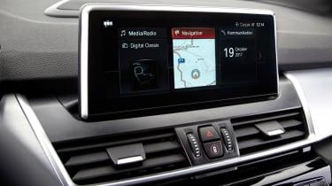 BMW 2 Series Active Tourer facelift - infotainment