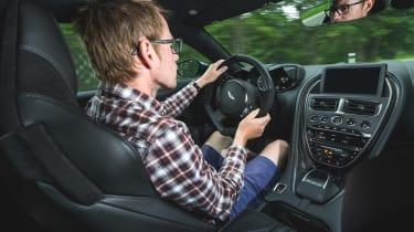 Aston Martin DBS Superleggera - interior