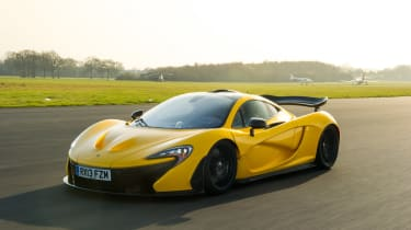 The P1 has astonishing levels of grip and performance.