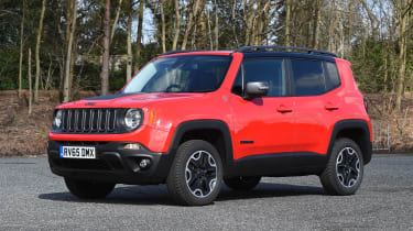 Jeep Renegade - front static