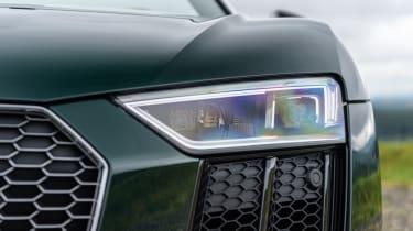 Audi R8 Spyder V10 plus - headlight