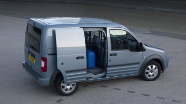 Ford Transit Connect right side door open