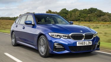 BMW 320d xDrive Touring - front