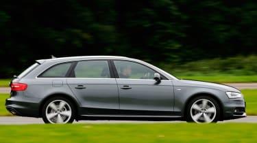 Audi A4 Avant panning