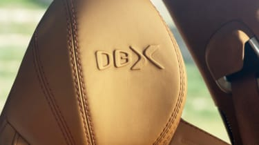 Aston Martin DBX - seat detail