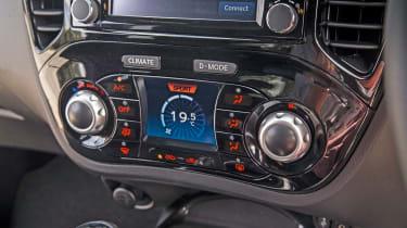 Nissan Juke - climate control