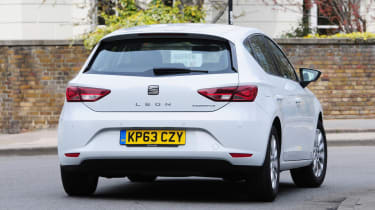 SEAT Leon Ecomotive rear