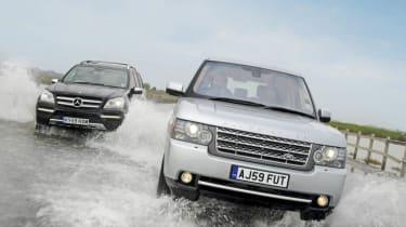 Range Rover vs GL450