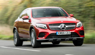 Mercedes GLC 250d Coupe - front tracking