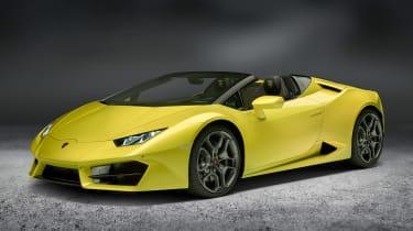 Lamborghini Huracan rear-wheel drive Spyder 1
