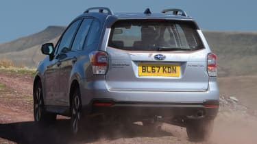 Subaru Forester rear quarter