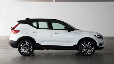 Volvo XC40 - Crystal White side