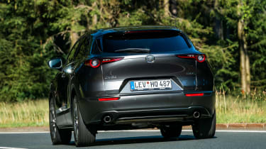 Mazda CX-30 - rear cornering