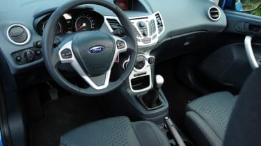 Ford Fiesta Mk6 - interior