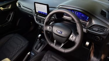 Ford Puma 1.0 Ecoboost ST Line Vignale dash