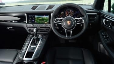 Porsche Macan - dash