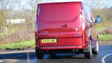 Ford Transit Custom PHEV - rear cornering