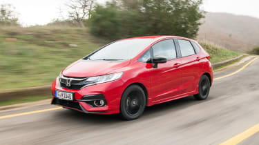 Honda Jazz - front action