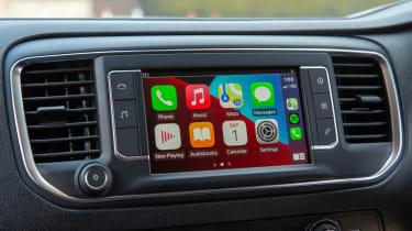 Toyota Proace Electric van - infotainment