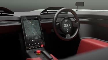 Aura concept car - interior