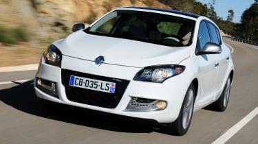 Renault Megane 1.2 GT-Line front tracking