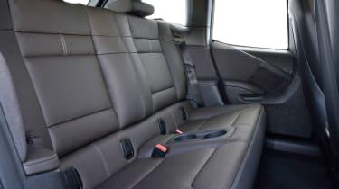 BMW i3s - rear seats