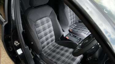The tartan seats in particular hark back to the original Golf GTI.