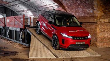 New Range Rover Evoque - front