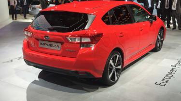 2018 Subaru Impreza Frankfurt - rear
