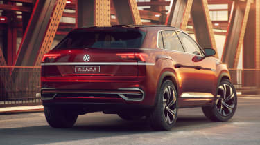 Volkswagen Atlas Cross Sport concept static
