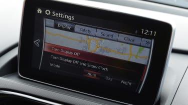 Mazda MX-5 RF - infotainment screen