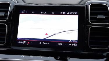 citroen c5 aircross infotainment