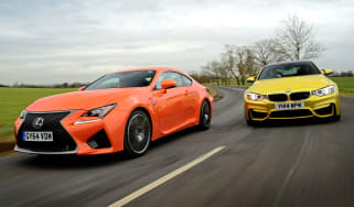 Lexus RC F vs BMW M4