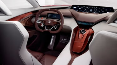 Acura Precision Concept interior