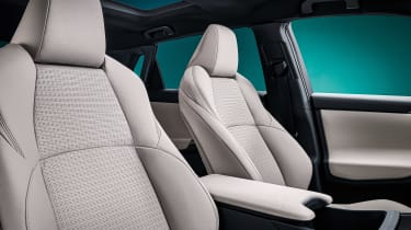 Toyota bZ4X concept - front seats