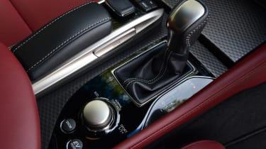 Lexus GS 450h F Sport - centre console