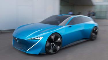Peugeot Instinct Concept - front action