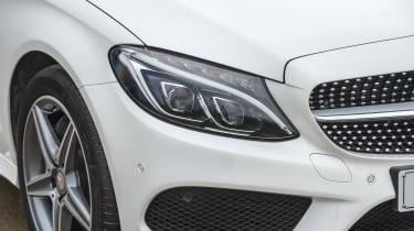 Mercedes C-Class Coupe C250d AMG Line - headlight