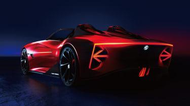 MG Cyberster - rear