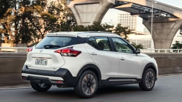 Nissan Kicks SUV - rear tracking 2