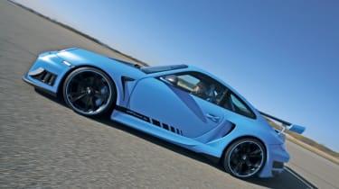 Techart Porsche 911 GTStreet RS panning