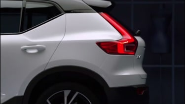 Volvo XC40 leaked - rear profile