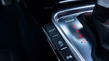 kia proceed gt prototype interior switchgear