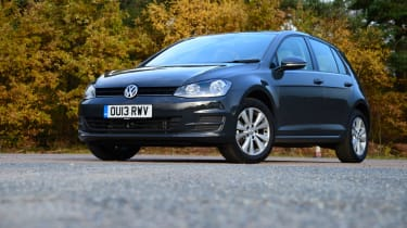 Volkswagen Golf hatchback 2013 front static