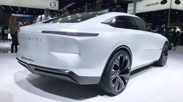 Infiniti Qs Inspiration concept - Shanghai rear