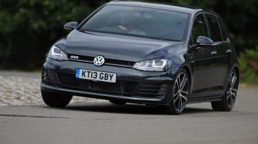 The Golf GTD uses a 181bhp 2.0 litre turbodiesel that posts unbelievable economy figures of up to 67.3mpg.