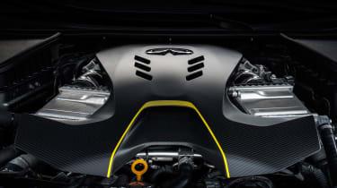 Infiniti Project Black S engine