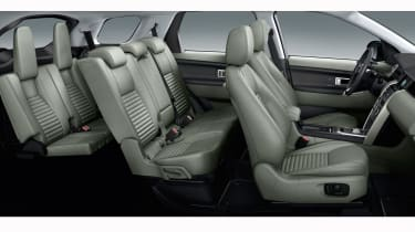 Land Rover Discovery Sport cabin seats