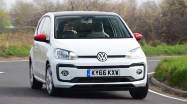 Volkswagen up! - long termer first report front