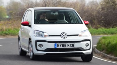 Volkswagen up! - long termer first report front